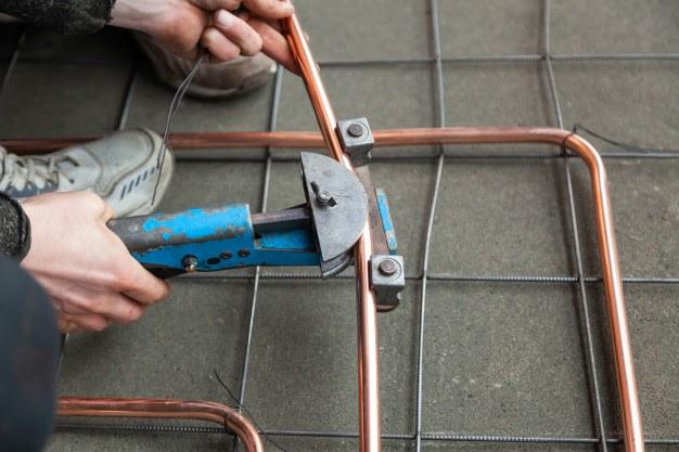 cara membengkokkan pipa besi