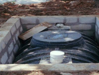 cara membuat septic tank dengan buis beton