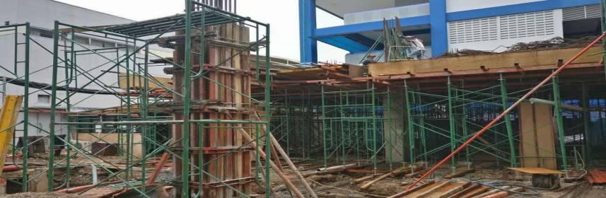 cara menghitung kebutuhan scaffolding