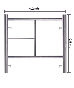 Ladder Frame 0.90 Galvanized
