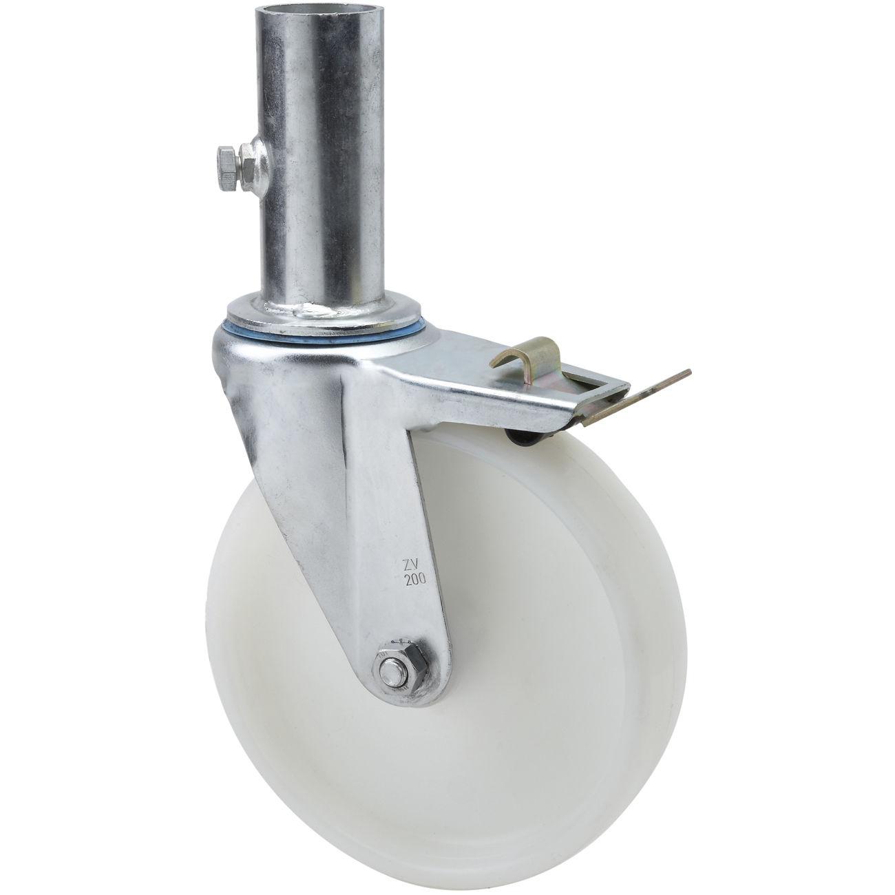 Roda /  caster 6 inch Nylon with Lock