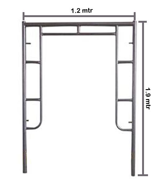 Main Frame 1.90 Scaffolding Galvanis