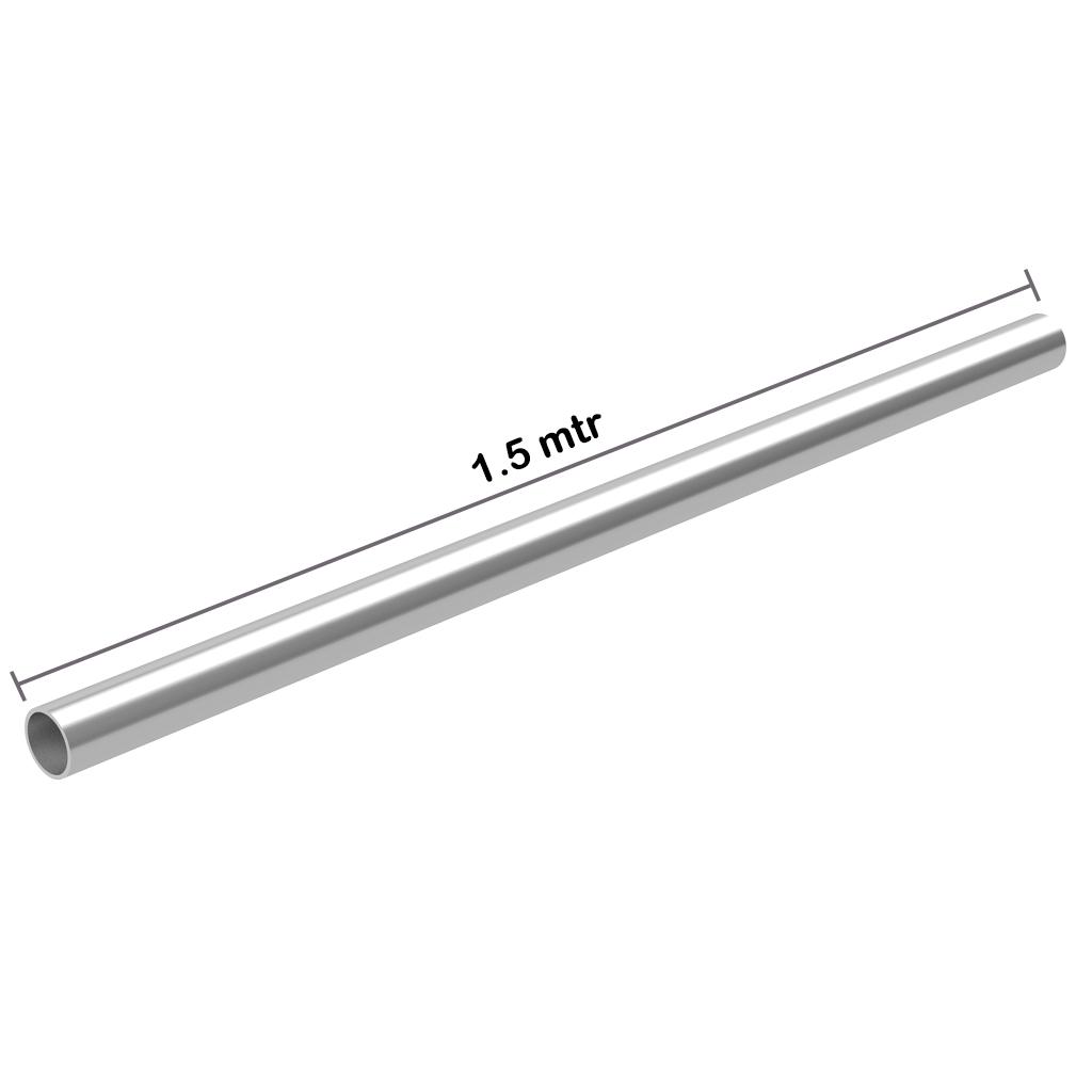 Galvanized Pipe 1.5 inch x 1.5 mtr x 3.2 mm OD: 48.3