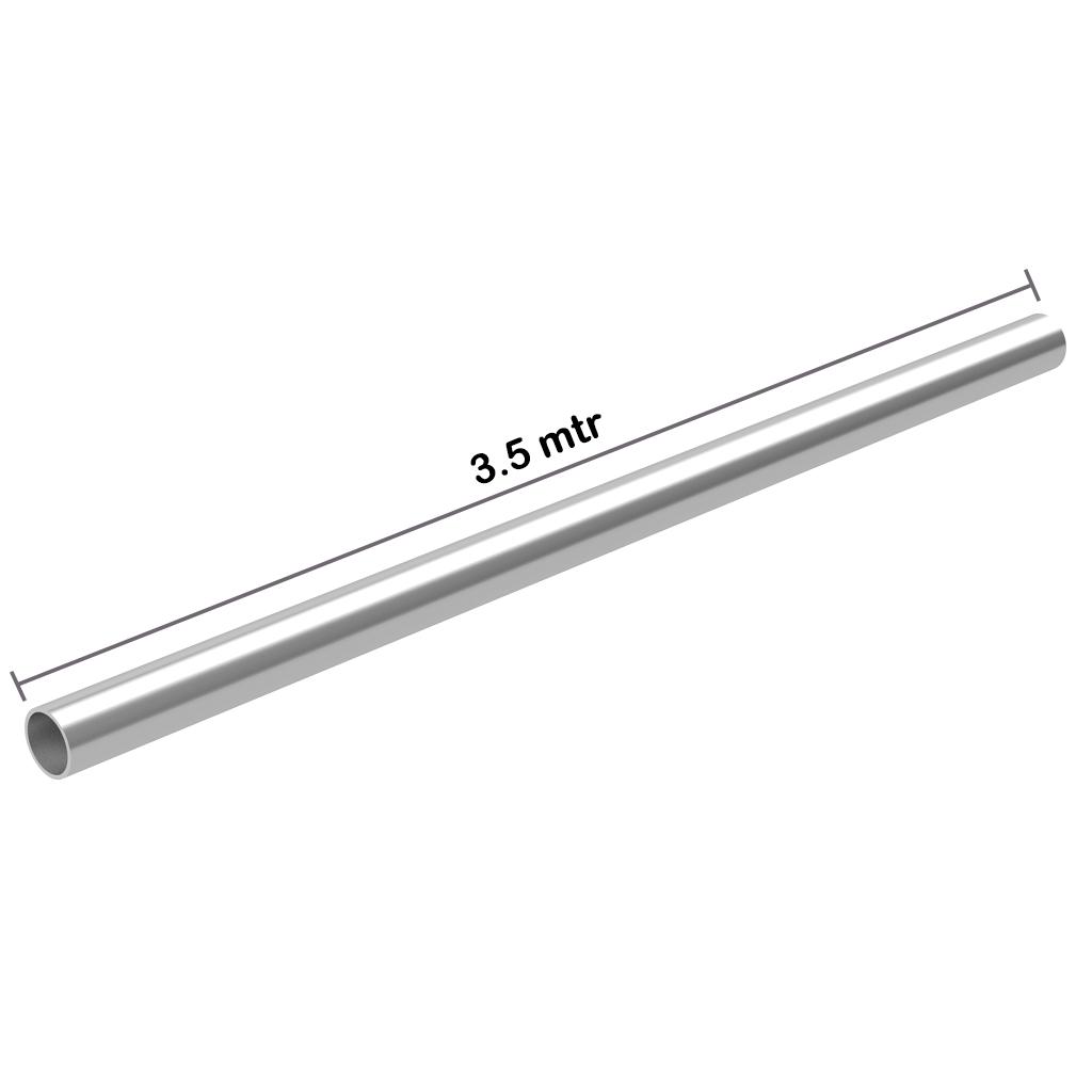 Galvanized Pipe 1.5 inch x 3.5 mtr x 2.4 mm OD: 48.3