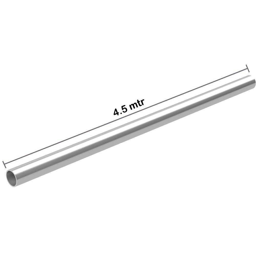 Galvanized Pipe 1.5 inch x 4.5 mtr x 2.4 mm OD: 48.3