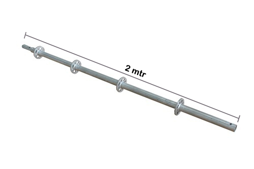 Vertical Post Ring Lock Galvanis 2 mtr x 3.2 mm